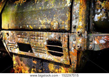 The Path Of Old Crawler Dozer Object