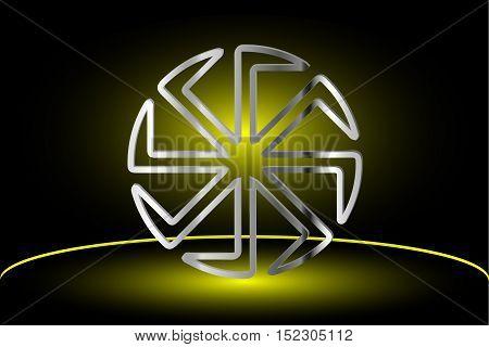 symbol Kolovrat , Kolovrat - a symbol of the sun