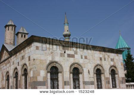 Mosque Of Konya In Turkey