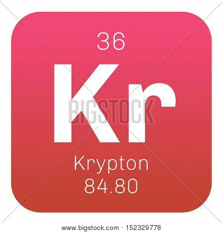 Krypton Chemical Element