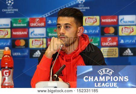 Uefa Champions League Dynamo Kiev V Benfica: Press-conference