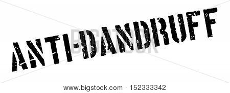 Anti-dandruff Rubber Stamp
