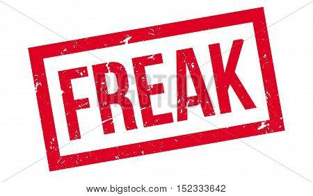 Freak Rubber Stamp