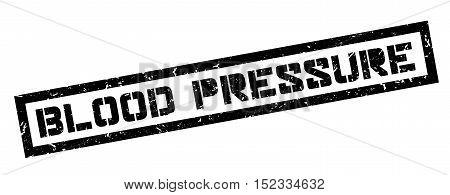 Blood Pressure Rubber Stamp