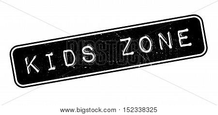 Kids Zone Rubber Stamp