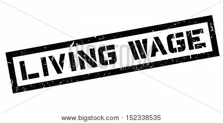 Living Wage Rubber Stamp