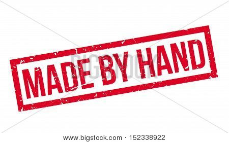 Made By Hand Rubber Stamp