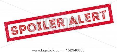 Spoiler Alert Rubber Stamp
