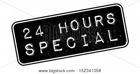 24 Hours Special Rubber Stamp