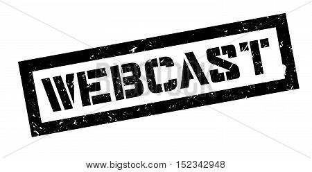 Webcast Rubber Stamp