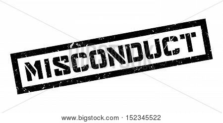 Misconduct Rubber Stamp
