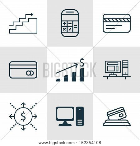 Set Of 9 Universal Editable Icons For Airport, Human Resources And Project Management Topics. Includ