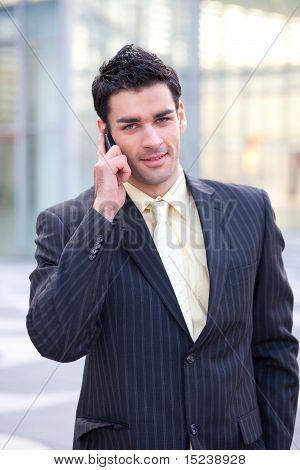 Young European Businessman