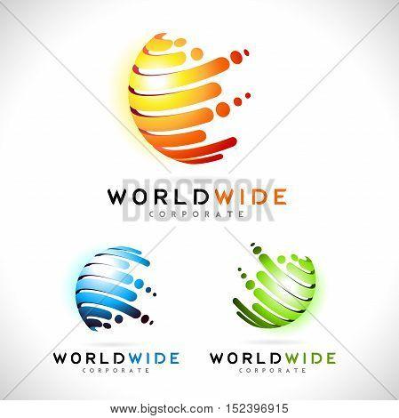 Sphere Logo Sphere Corporate Business Icon Sphere Vector.