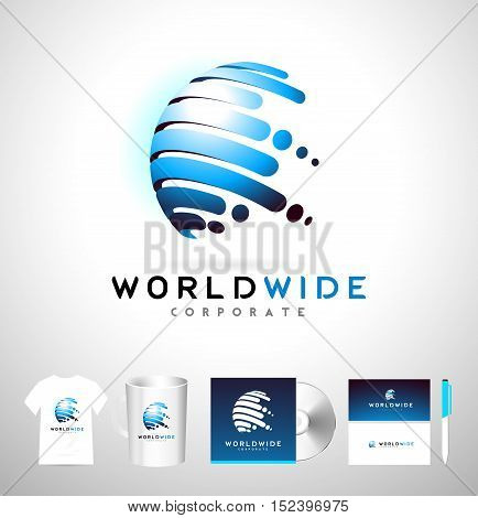 Sphere Logo Sphere Corporate Business Icon Sphere Vector.