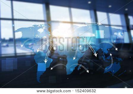 Business Avaitaion Background