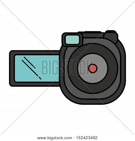 video camera device isolated icon vector illustration design
