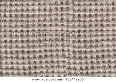 Texture Of Woven Fabric. Gray Blanket.