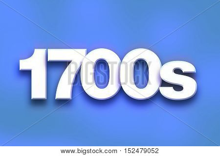 1700S Concept Colorful Word Art