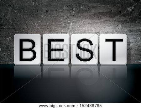 Best Tiled Letters Concept And Theme