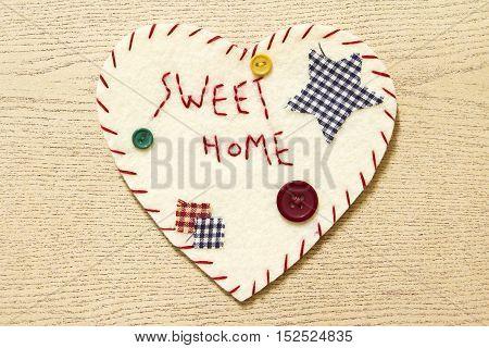 Heart sign velvet, handmade, design, heart shape