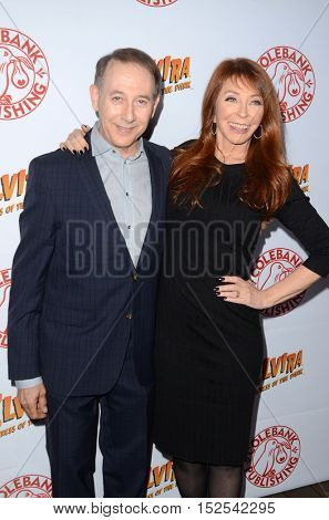 LOS ANGELES - OCT 17:  Paul Reubens, Cassandra Peterson at the