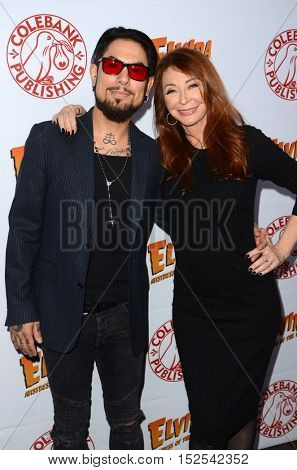 LOS ANGELES - OCT 17:  Dave Navarro, Cassandra Peterson at the