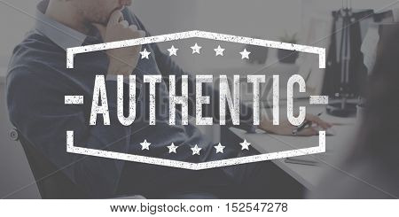 Authentic Legitimate Professional Business Concept