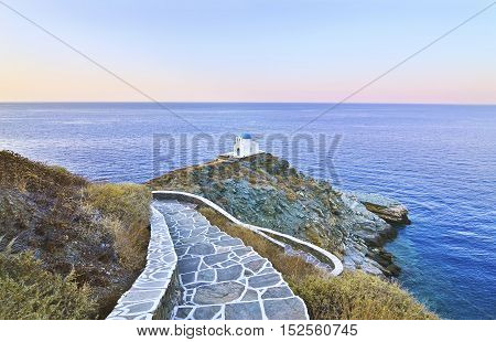 church of the Seven Martyrs Sifnos island Greece