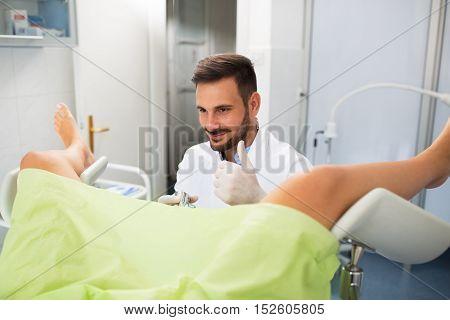 Success Gynecologist Examination