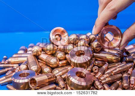 Copper,cap Tips