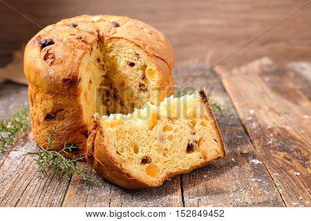 panettone,italian christmas cake