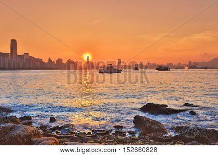The Coast Of Lei Yue Mun