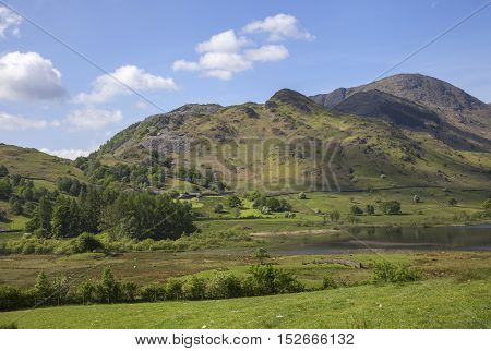 Little Langdale Tarn, Lake District, Cumbria, England