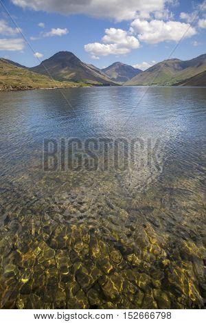 Beautiful Wast Water, Lake District, Cumbria, England