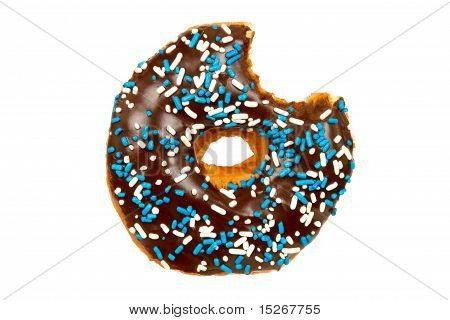 Donut with Bite Missing