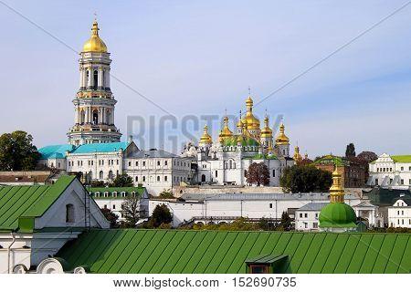Famous Orthodox Monastery - Kiev Pechersk Lavra, Kiev, Ukraine.