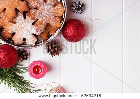 Christmas Cookies In A Tin Box