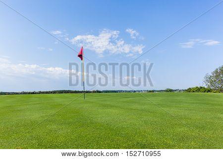 Golf Green Flagstick
