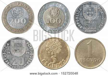 Full Set Of Portugal Coin