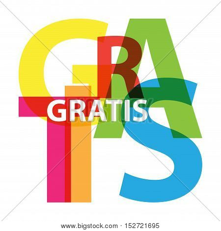 Vector gratis. Isolated confused broken colorful text