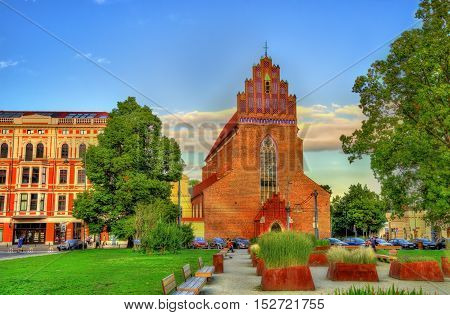 Corpus Christi church in Wroclaw - Poland, Lower Silesia