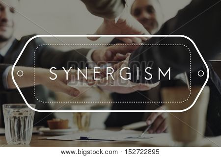 Synergism Synergy Interaction Cooperation Unity Concept