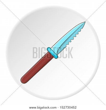Knive icon. Cartoon illustration of knive vector icon for web