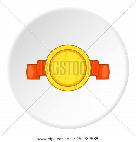 Medal of championship icon. Cartoon illustration of medal of championship vector icon for web