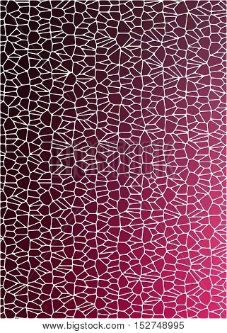 maroon tiled abstract background with shadow and reflections