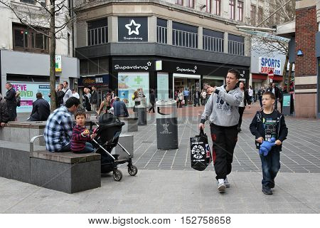 Liverpool Shopping
