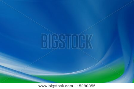 Beautiful blue/green background blur