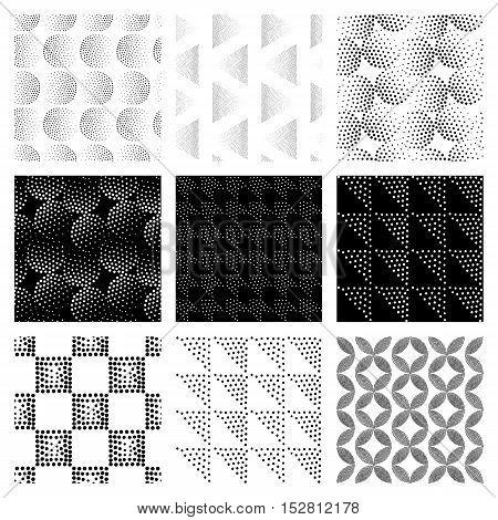 Vector Seamless Patterns Set