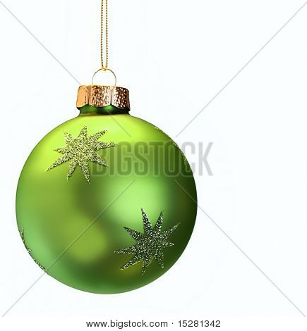 Green Christmas ornament